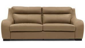 Vicenza Sofa (Camel Italian Leather)