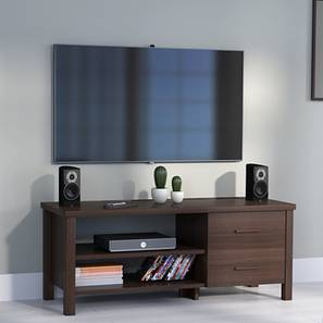 Norland Compact TV Unit (Dark Walnut Finish) by Urban Ladder