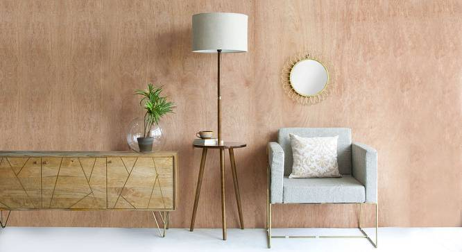 Faraday Floor Lamp With Side Table
