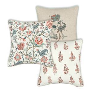 "Calico Cushions - Assorted Set Of 3 (16"" X 16"" Cushion Size)"