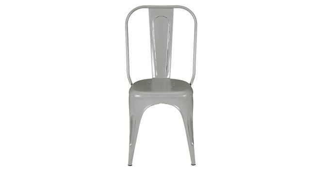 Soren Metal Chair (Grey) by Urban Ladder