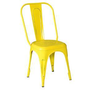 Soren Metal Chair (Yellow)