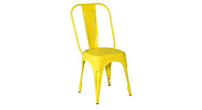 Soren Metal Chair (Yellow) by Urban Ladder