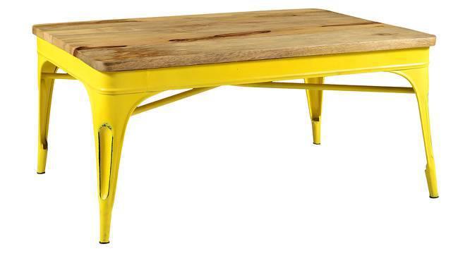 Soren Coffee Table (Yellow) by Urban Ladder
