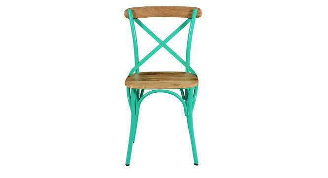 Rosenberg Chair (Blue) by Urban Ladder