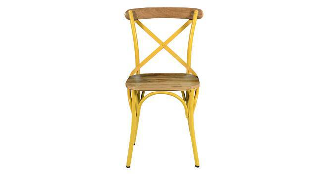 Rosenberg Chair (Yellow) by Urban Ladder