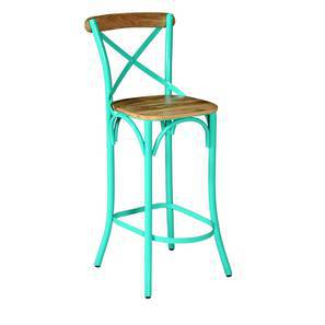 Rosenberg bar chair blue lp