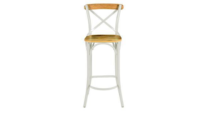 Rosenberg Bar Chair (Cream) by Urban Ladder