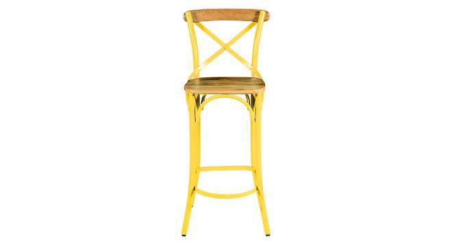 Rosenberg Bar Chair (Yellow) by Urban Ladder