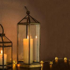 Ilka Lantern (Antique Brass Finish)