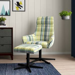 Hastings Swivel Lounge Chair With Ottoman (Lime)
