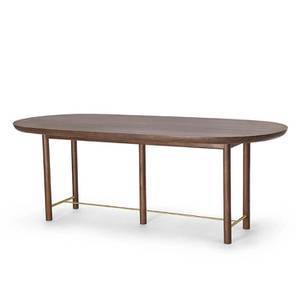 Mej Six Seater Dining Table (Teak Finish)