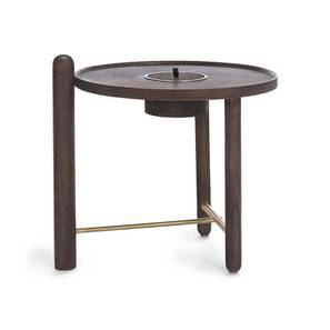Mej Side Table (Teak Finish) by Urban Ladder