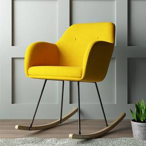 Mildred Rocking Chair (Yellow)