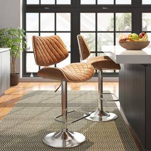 Colin Bar Stool (Chestnut Brown) by Urban Ladder