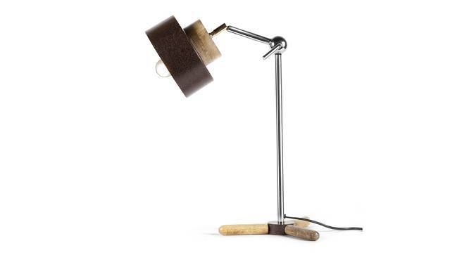 Tristan Study Table Lamp (Black) by Urban Ladder