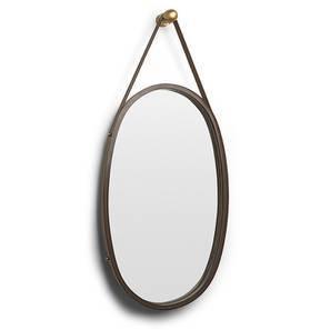 Parchayee Wall Hanging Mirror (Teak Finish)