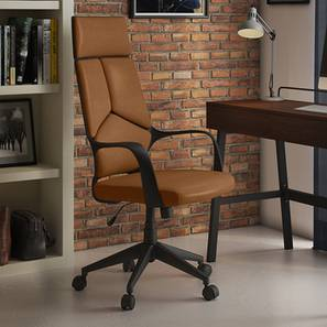 Stanton Study Chair (Chestnut Brown)