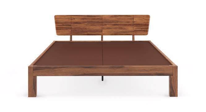 Marieta Bed (Teak Finish, Queen Bed Size) by Urban Ladder