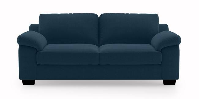 Esquel Sofa (Cobalt) (3-seater Custom Set - Sofas, None Standard Set - Sofas, Cobalt, Fabric Sofa Material, Regular Sofa Size, Regular Sofa Type)