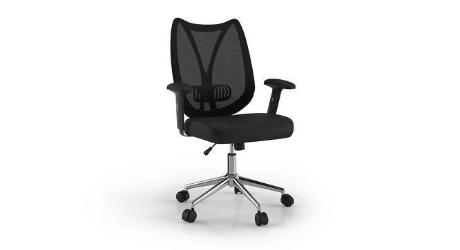 Amoruso Study Chair With Lumbar Support (Black) by Urban Ladder
