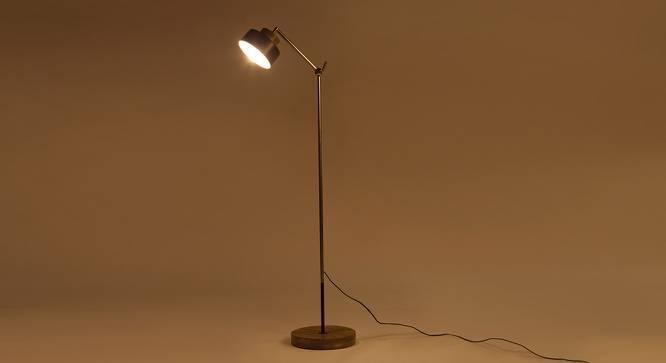 Bourbon Floor Lamp (Brown) by Urban Ladder