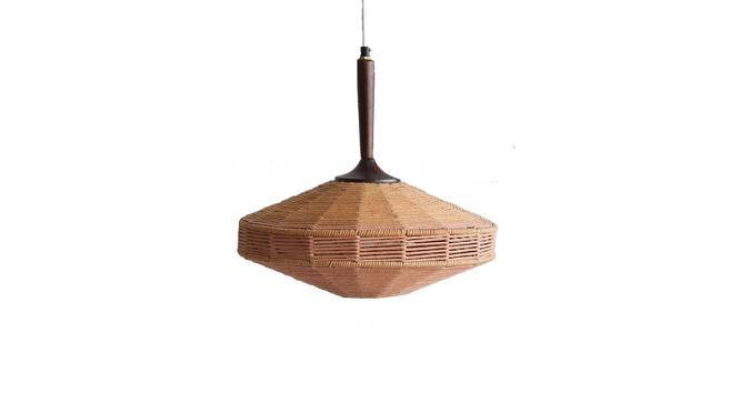 Trompo Hanging Lamp (Brown) by Urban Ladder