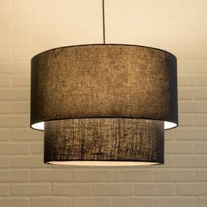 Halo Double Pendant Light (Black)
