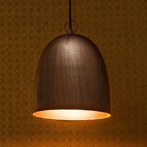 Oeno Pendant Lamp (Single Arrangement, Black Shade Finish)
