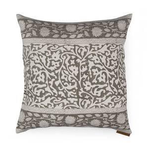 Ketifa Cushion Cover - Set Of 2 (Lush Vines Pattern, Caramel) by Urban Ladder