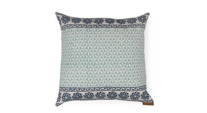 Qitarah Cushion Cover - Set Of 2 (Indigo Blue, Garden Of Paradise Pattern) by Urban Ladder