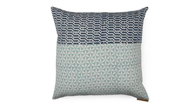 Qitarah Cushion Cover - Set Of 2 (Indigo Blue, Indigo Dreams Pattern) by Urban Ladder