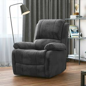 Tribbiani Recliner (Grey) by Urban Ladder
