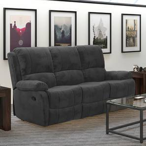 Tribbiano three seater recliner sofa grey lp