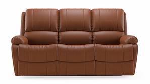 Tribbiani Recliner Sofa Set (Tan Leatherette)