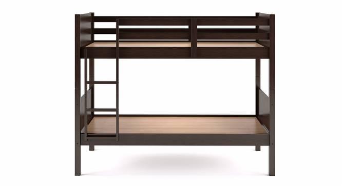 Lisbon Bunk Bed (Dark Walnut Finish, Without Storage) by Urban Ladder