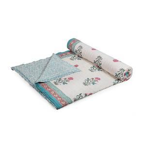 Zahra Quilt (Queen Size, Multi Colour)