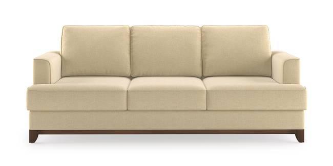Halden Sofa (Ivory White) (1-seater Custom Set - Sofas, None Standard Set - Sofas, Ivory, Fabric Sofa Material, Regular Sofa Size, Regular Sofa Type)