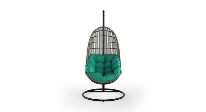 Piver Swing Chair With Stand (Teal) by Urban Ladder