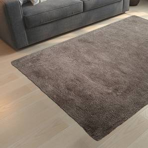 "Dartmoor Shaggy Rug (Grey, 60"" x 36"" Carpet Size) by Urban Ladder"