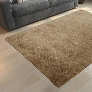 "Dartmoor Shaggy Rug (Beige, 60"" x 36"" Carpet Size) by Urban Ladder"
