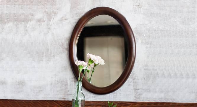Freya Round Wall Mirror (Round Mirror Shape) by Urban Ladder