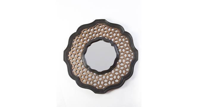 Hepburn Round Wall Mirror (Round Mirror Shape) by Urban Ladder