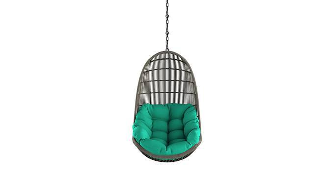 Piver Swing Chair With Long Chain (Teal) by Urban Ladder