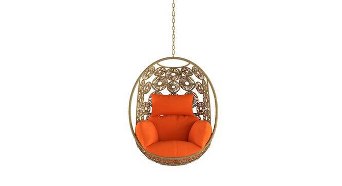 Kyodo Swing Chair With Long Chain (Orange) by Urban Ladder