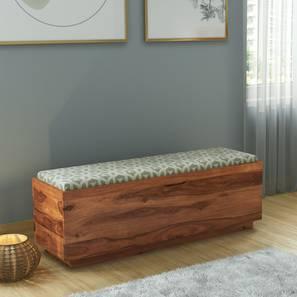Zephyr Blanket Box (Teak Finish) by Urban Ladder