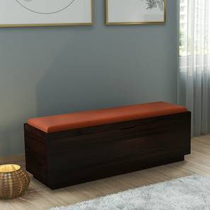 Zephyr Blanket Box (Mahogany Finish) by Urban Ladder