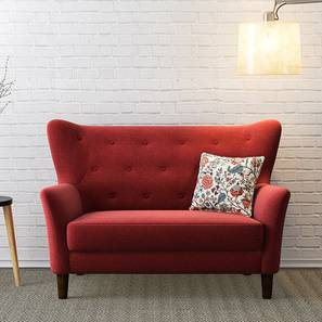 Good Frida Loveseat (Red) By Urban Ladder