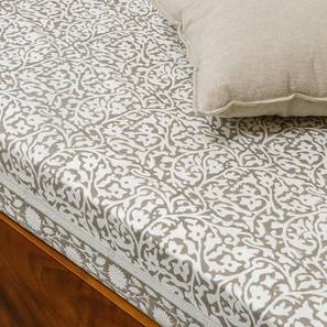 Ketifa Bedsheet (White, Single Size)