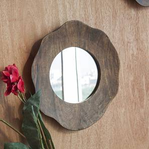 Tess Wall Mirror (Round Mirror Shape, Medium Mirror_Size) by Urban Ladder
